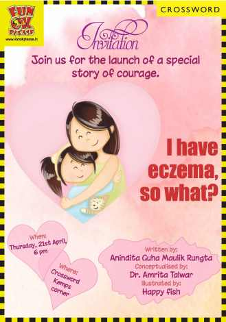 Invitation - eczema Book launch
